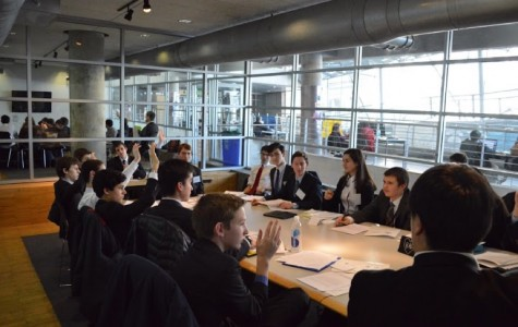 WHS Model Congress Freezes Competition at Columbia Conference